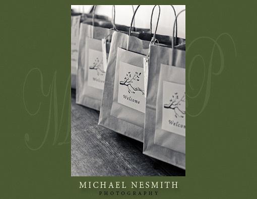 Gift bags Winnipesaukee lake house
